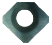 Wendeplatte G70 HSS 1.2 - 8 mm Image